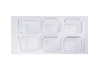 Perfect Poly Carbonate Polypropyene Food Pans