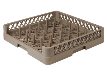 25 - Compartment Open Plate & Tray Rack