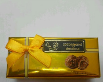 2 pieces Square Shape Gift Box 25g