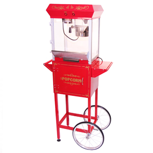 Sephra 4oz Popcorn Maker with Cart