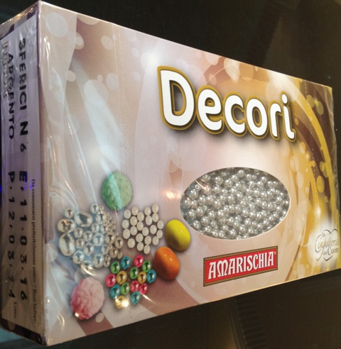 DECORI N.4 SILVER SUGAR BALL