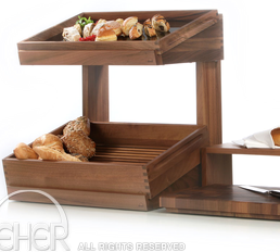 ZIEHER SOLID BREAD DISPLAY