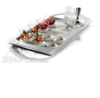 ZIEHER TRAYS IN SHAPE DISPLAY